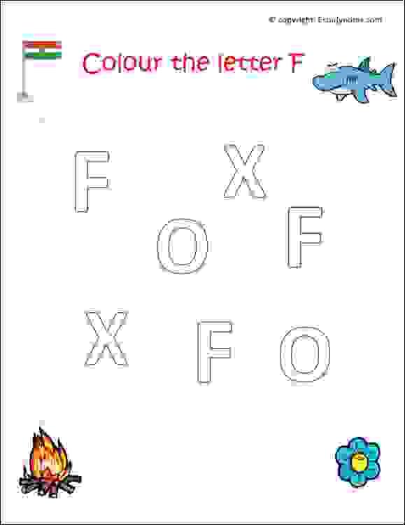 preschool english alphabet worksheets