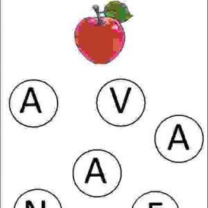nursery class english alphabet worksheets