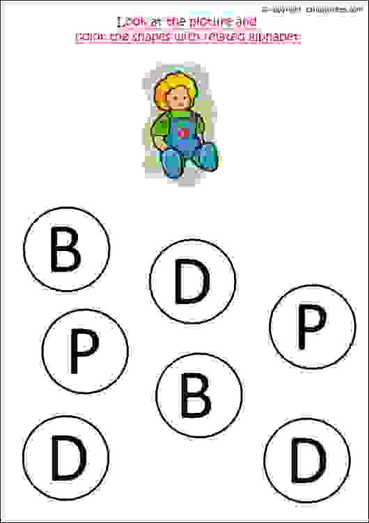 English Worksheets For Preschool Workbook Letter D: Nursery Worksheets English At Alzheimers-prions.com