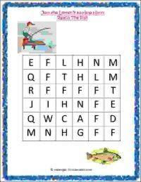 nursery class english activity worksheet