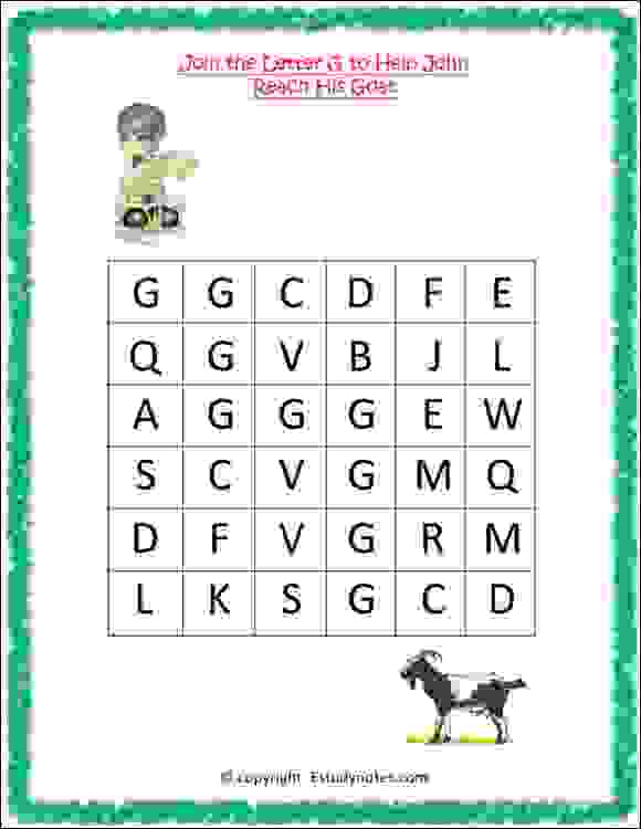 nursery class english activity worksheet