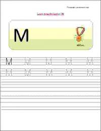 nursery class english alphabet tracing worksheets