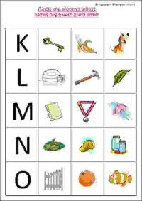 cbse english worksheets for lkg