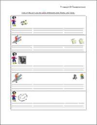 english grammar worksheets for senior kg