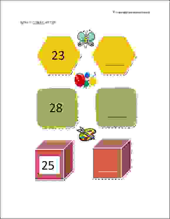 Preschool Worksheet Gallery: Numbers 21 30 Tracing Worksheets