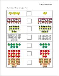 senior kg greater than smaller than worksheets