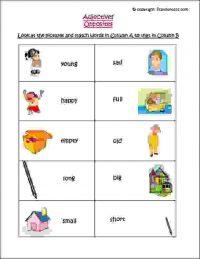 ÿclass 1 english grammar worksheets