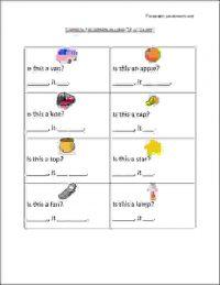 english grammar worksheets class 1