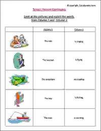 ÿenglish exercises present continuous tense
