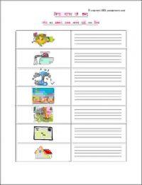 hindi worksheets for grade 1