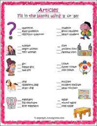 cbse english grammar worksheet for class 2
