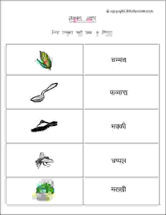Hindi Sanyukt Akshar Worksheets For Class 2 Estudynotes