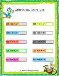 cbse maths number worksheet for class 2
