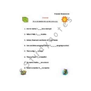 English Worksheets For Grade 1 Printable English Grammar Worksheets