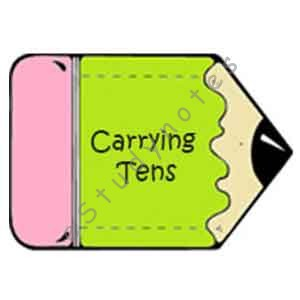 Addition With Carrying Tens
