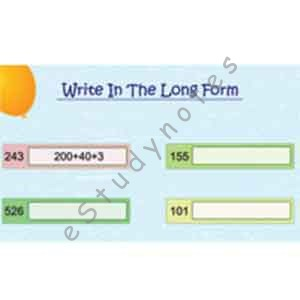 Write in long form