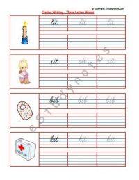 cursive writing worksheets for upper kg