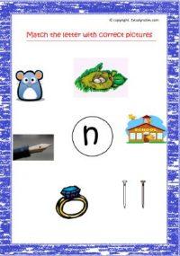 junior kg english worksheets
