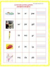 senior kg english worksheets