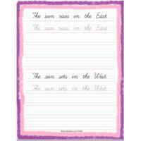 cursive writing worksheets for std 2