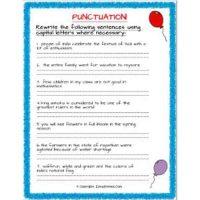 english grammar worksheets for grade 2