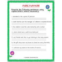 english grammar worksheets for class 2