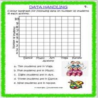 maths data handling worksheets for grade 3