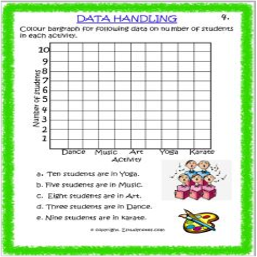 maths data handling worksheets for grade 3