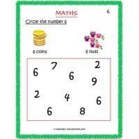 maths worksheets for preschool