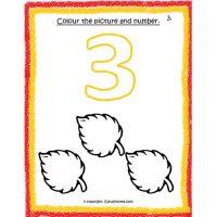 maths number worksheets for preschool