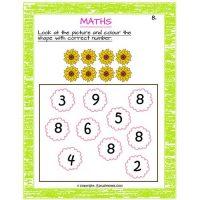 free printable maths worksheets for preschool