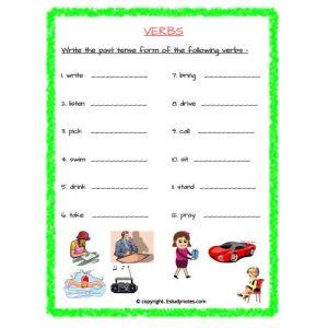 free printable english grammar worksheets for grade 2 - EStudyNotes