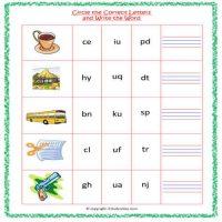 vowel u worksheets for kindergarten