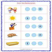 english worksheets for senior kg
