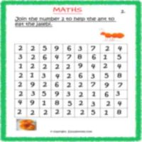 free maths actvity sheets for kids