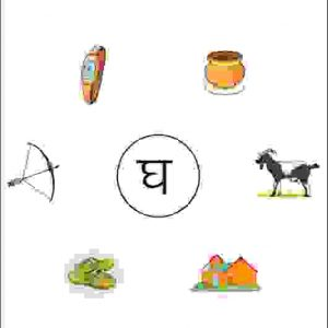 junior kg hindi activity sheet with pictures