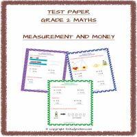cbse maths grade 2 test paper
