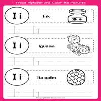 Alphabet Tracing Worksheets for Junior KG