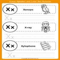 Kindergarten Tracing Worksheets